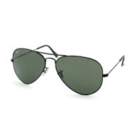 Ray-Ban Aviator Large Metal in Schwarz