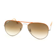 Ray-Ban Aviator Large Metal in Orange