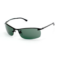 Ray-Ban Top Bar in Schwarz