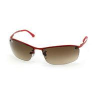 Ray-Ban Top Bar in Rot