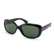 Ray-Ban Jackie Ohh in Schwarz