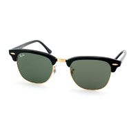 Ray-Ban Clubmaster in Schwarz