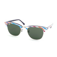 Ray-Ban Clubmaster in Lila