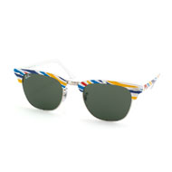Ray-Ban Sonnenbrille Clubmaster RB 3016 1013