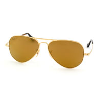 Ray-Ban Ultra Aviator in Goldfarben
