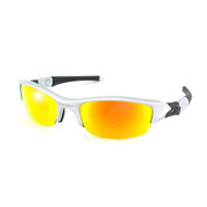 Oakley Flak Jacket in Silber