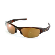 Oakley Flak Jacket in Braun