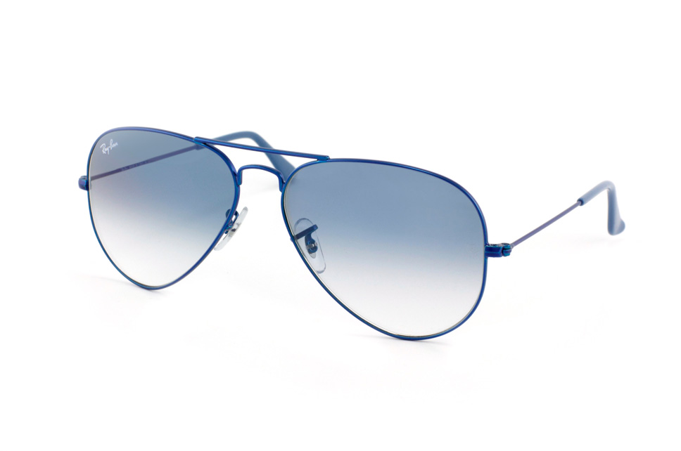 Aviator Large Metal RB 3025 in Blau