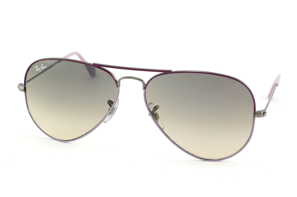 Aviator Large Metal RB 3025 in Lila