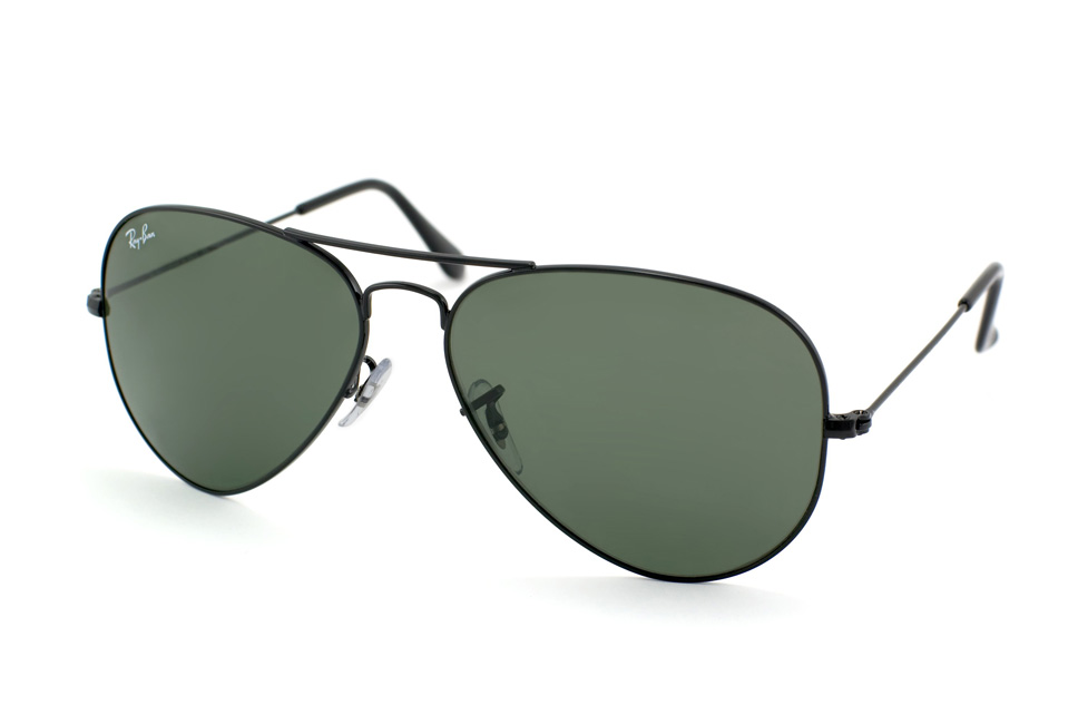 Aviator Large Metal RB 3025 in Schwarz