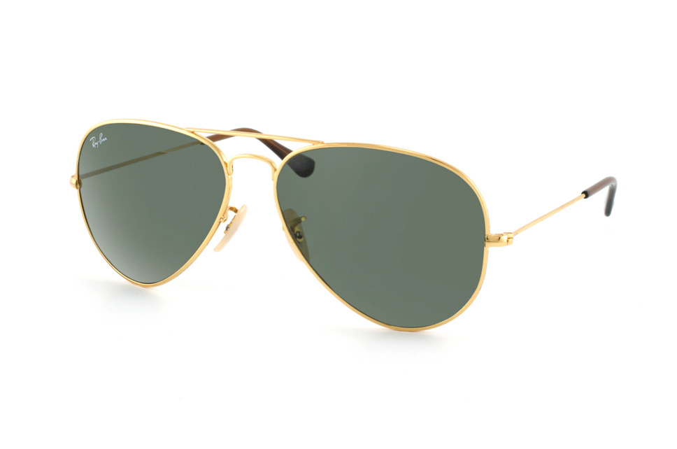 Aviator Titanium RB 8041 in Goldfarben