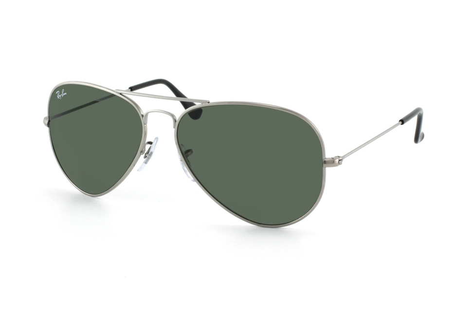Aviator Titanium RB 8041 in Silber