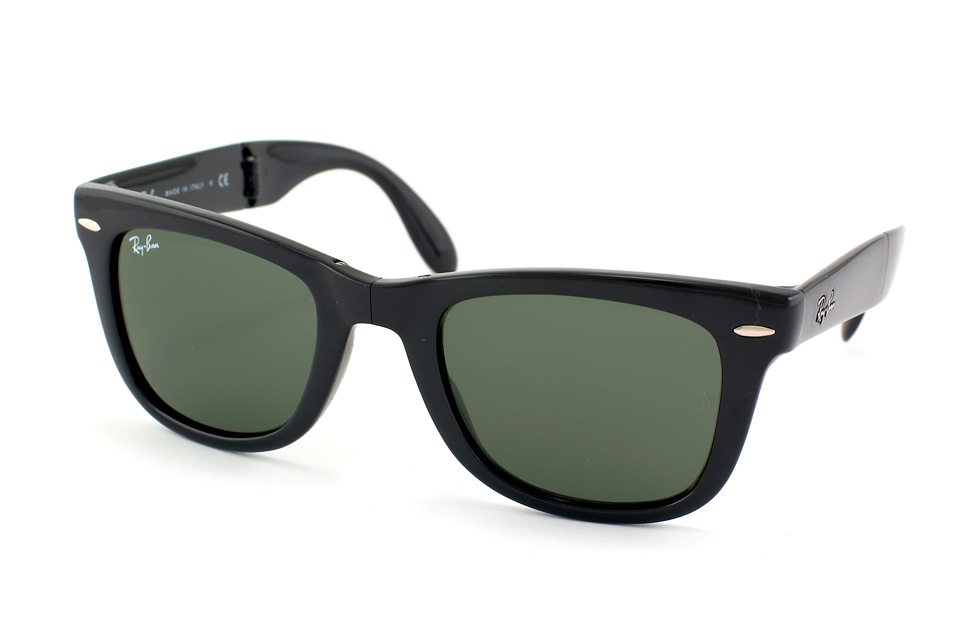 Folding Wayfarer RB 4105 in Schwarz