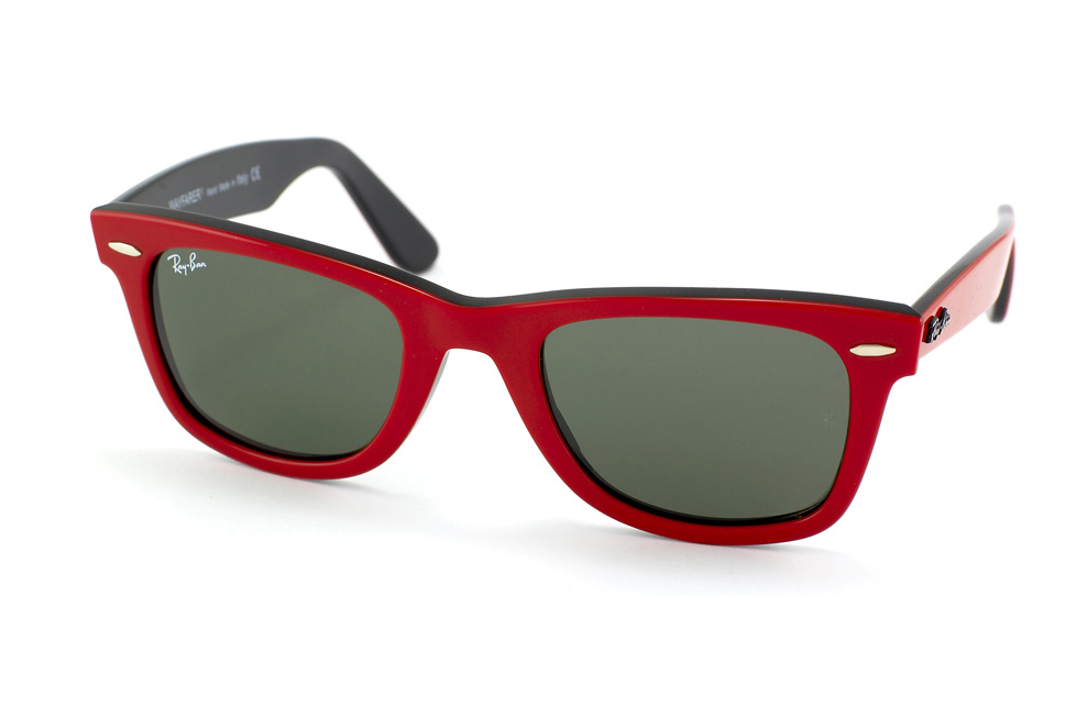 Original Wayfarer RB 2140 in Rot